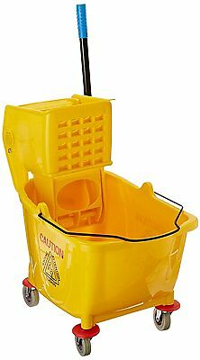 Heavy-duty extra large mop bucket commercial rolling cleaning cart