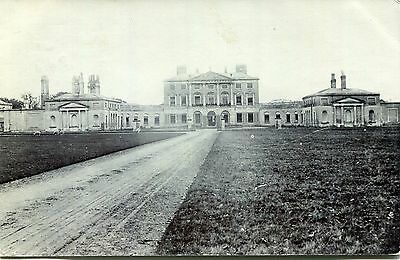 1906 postcard Large stately home location unknown