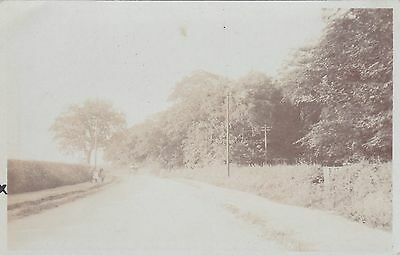 Postcard - Forest Road near Sherwood Hall - RP 1908