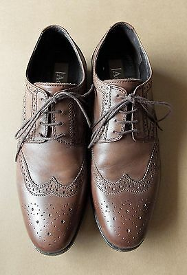 AS NEW Size 40 Aquila Brown Leather Men's Shoes