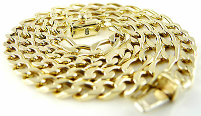 """Stunning (17.82g) 9ct Solid Gold Curb Link Chain (18"""") Hallmarked Necklace"""