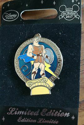 P4 Hercules sold out Disney Trading Pin - Limited Edition with card