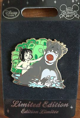 P4 Jungle Book sold out Disney Trading Pin - Limited Edition with card