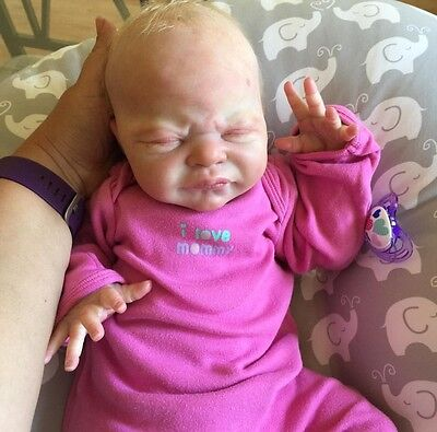 Reborn Baby Girl MIRACLE Laura Lee Eagles Sold Out LE Realistic Newborn Doll