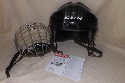 CCM FL40 Pro Hockey Helmet with Face Cage Size XT L - New with tags