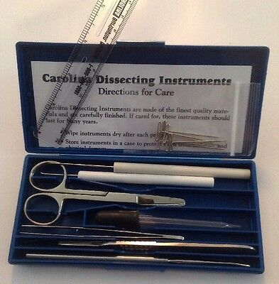 Carolina Biological supply co. Dissecting kit NEW!