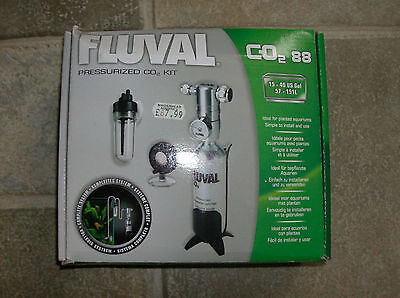 Fluval Pressurised CO2 Kit 88g