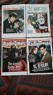 Dr Doctor Who Printed Postcard Collection Radio Times 2013 Daleks