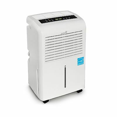 Ivation 30 Pint Energy Star Dehumidifier - Includes Programmable Humidistat H...