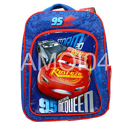 Disney Cars Lightning McQueen Boys BackPack School Bag *New