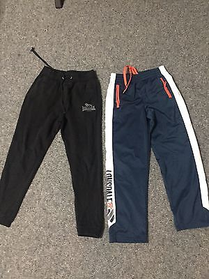 Lonsdale Boys Size 12 Track Pants Great Condition