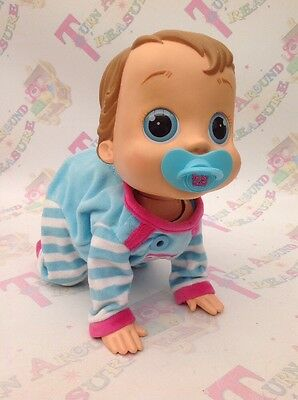 Baby Wow Crawling Interactive Doll With Dummy - FAB!!