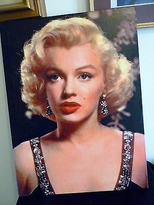 A Nice Vintage Print On Canvas Of Marilyn Monroe