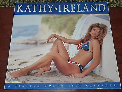 Kathy Ireland Calendar 1997 Hometown Graphics by Day Dream
