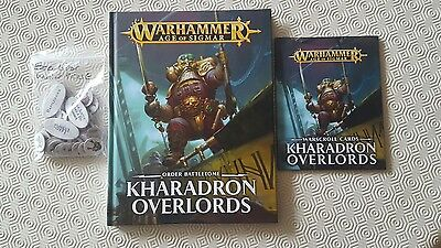 warhammer age of sigmar kharadron overlords battletome and cards