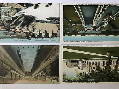Lot of 36 Panama Canal zone postcards