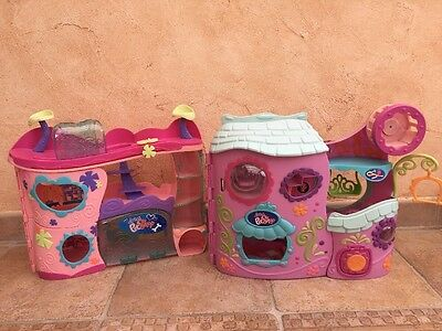 Lot de 2 Maisons Littlest Petshop