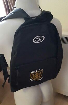 Hull fc rugby league backpack by ISC bnwots.