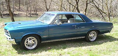 1965 Pontiac GTO  1965 Pontiac GTO PHS Documented Low Reserve Awesome Muscle