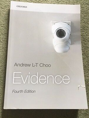 Evidence Textbook by Andrew L-T Choo
