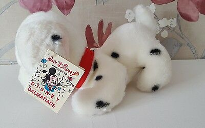 Disney 101 Dalmatians Soft Plush Toy 1989 - Vintage Disney Plush - Tagged VGC