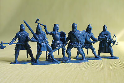 English knights Plastic Collection Soldiers set 1/32 54mm exclusive