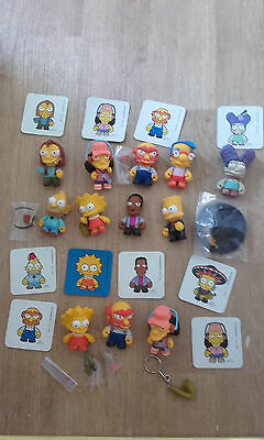 Kidrobot The Simpsons 12 figure bundle / collection / lot