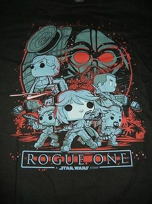 Funko Star Wars Rogue One T-Shirt Smugglers Bounty Exclusive sixe XL/XXL