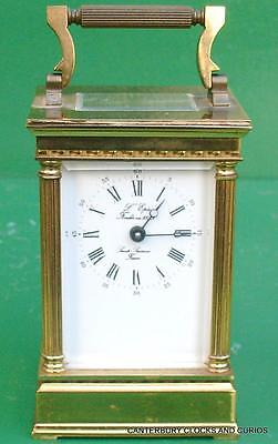 L'epee Vintage French Venitienne 8 Day Timepiece Carriage Clock