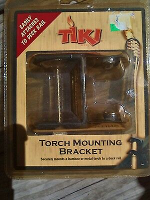 Tiki Torch Mounting Bracket