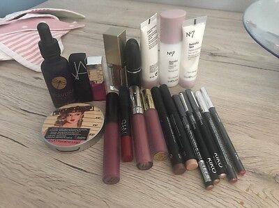 Make Up Bundle NARS Mac Stila Clinique Kiko