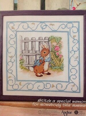 (P) Beatrix Potter Peter Rabbit Cross Stitch Chart