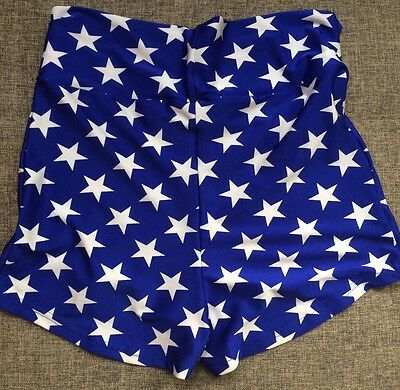 Wonder Woman Cosplay Maternity Shorts - Booty & The Geek Size 14 (large)