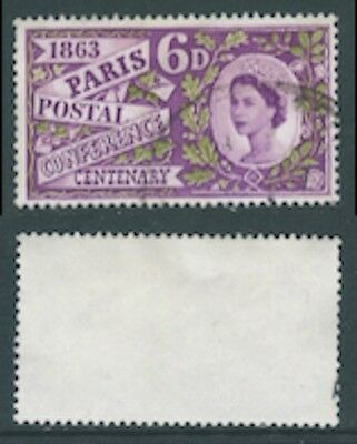 1963 Set from Paris Postal Conference Centenary SG 636p Used
