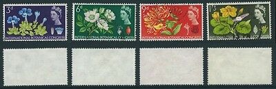 1964 Set from 10th International Botanical Congress SG 655 to SG 658 Used