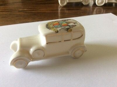 crested china car . birmingham crest.