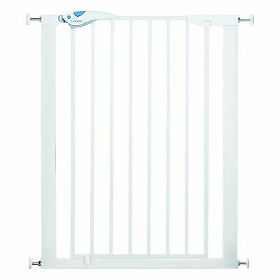 Baby Safety Gate Extra Tall Toddler Stair Barrier Pressure Indicator Pet Child