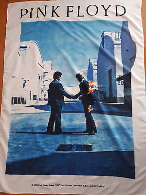 Music Memorabilia Pink Floyd Rare Wish You Were Here Flag Polyester Poster