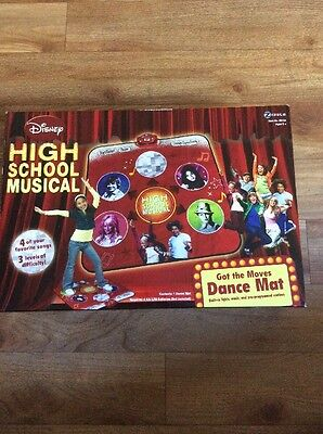 Disney Electronic High School Musical Got the Moves Dance Mat - Lights And Music