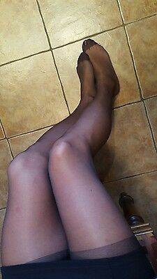 My Pre-owned Barely Black work tights