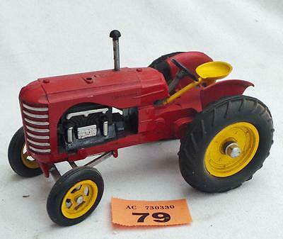 #79  Vintage Empire Built Massey Harris tractor LARGE SCALE