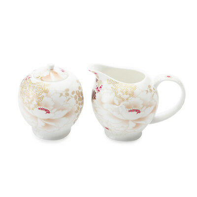 Sugar & Creamer Set by Maxwell & Williams, Fine bone china, Kimono design NEW