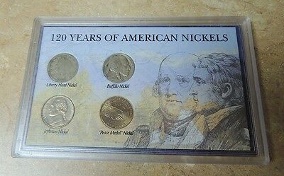 THE MORGAN MINT 120 YEARS OF AMERICAN NICKELS - Coins Buffalo Nickels Liberty