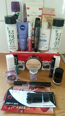 branded makeup/beauty bundle 24 new items
