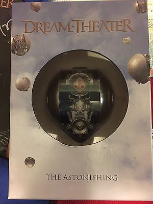 Dream Theater The Astonishing Box Set With Autographed Poster And Pin!!