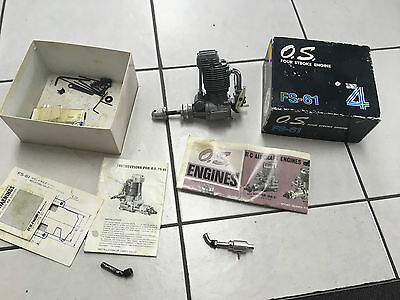 OS FS-61 Four Stroke  R/C Model  Aircraft  Engine