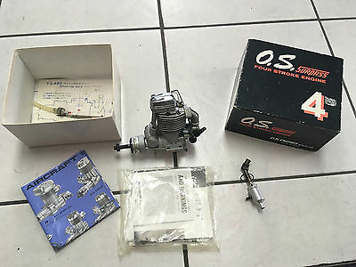OS FS-48 Surpass Four Stroke  R/C Model  Aircraft  Engine
