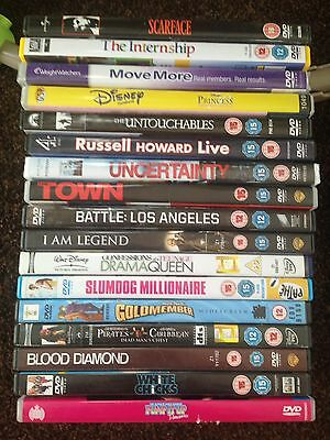 Mixed Lot Of Dvds