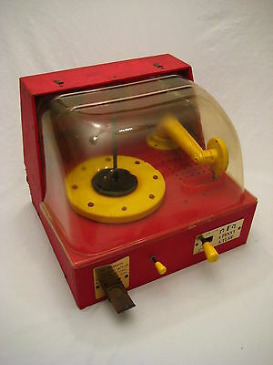 "Rare Vintage Spear Model 60 Super-Matic ""A Penny A Tune"" Electric Phonograph"