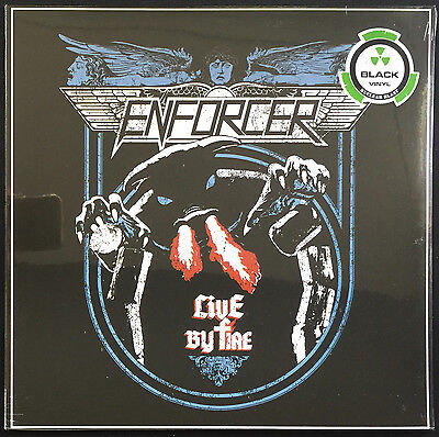 ENFORCER - Live By Fire / Nuclear Blast LIMITED Black Vinyl LP NEW SEALED
